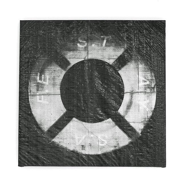 Tarpaulin painting silkscreen