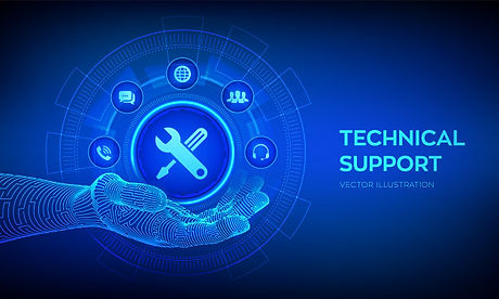 technical-support-icon-robotic-hand-cust