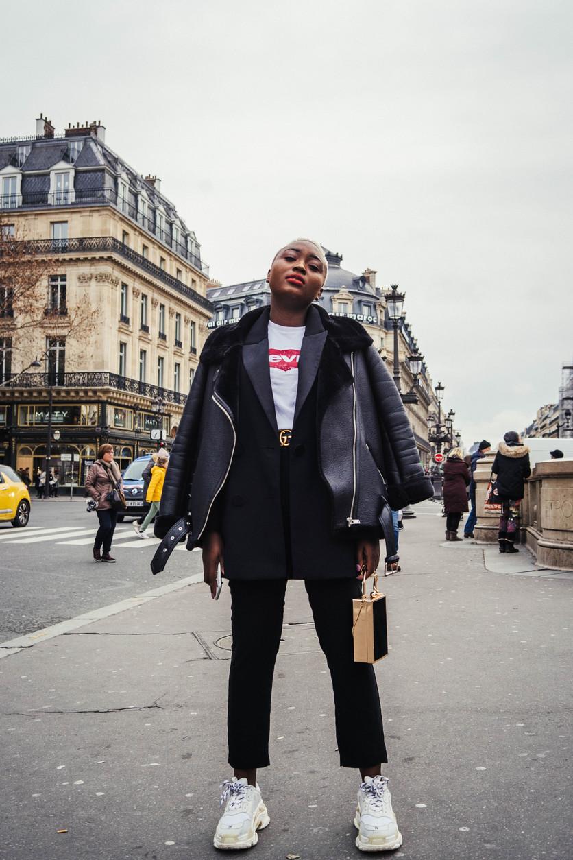 #Paris #fashion #street #models