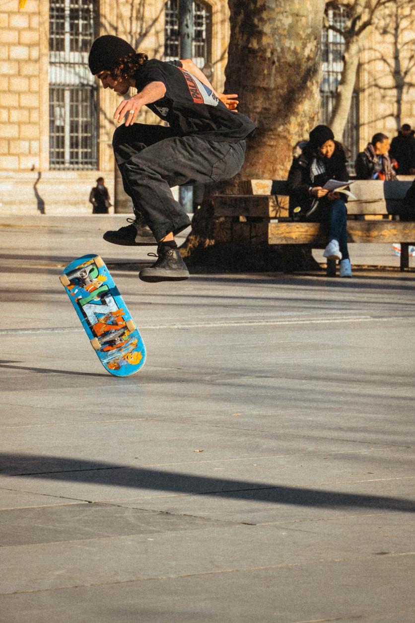#Paris #Skateboarding #république