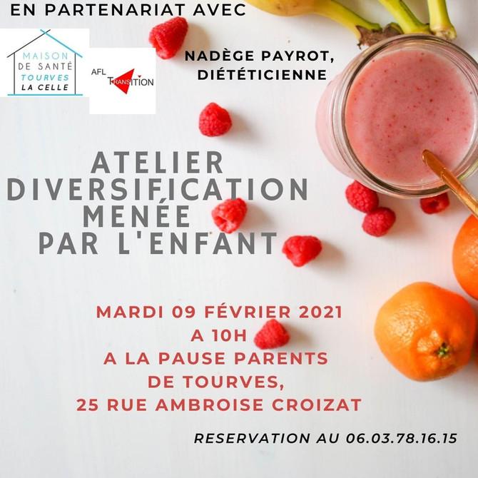 Pause Parents Tourves Atelier DME 09.02.2021 à 10H