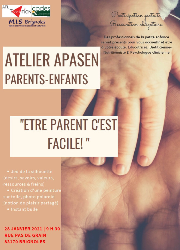 28 janvier 2021 evenement etre parent c
