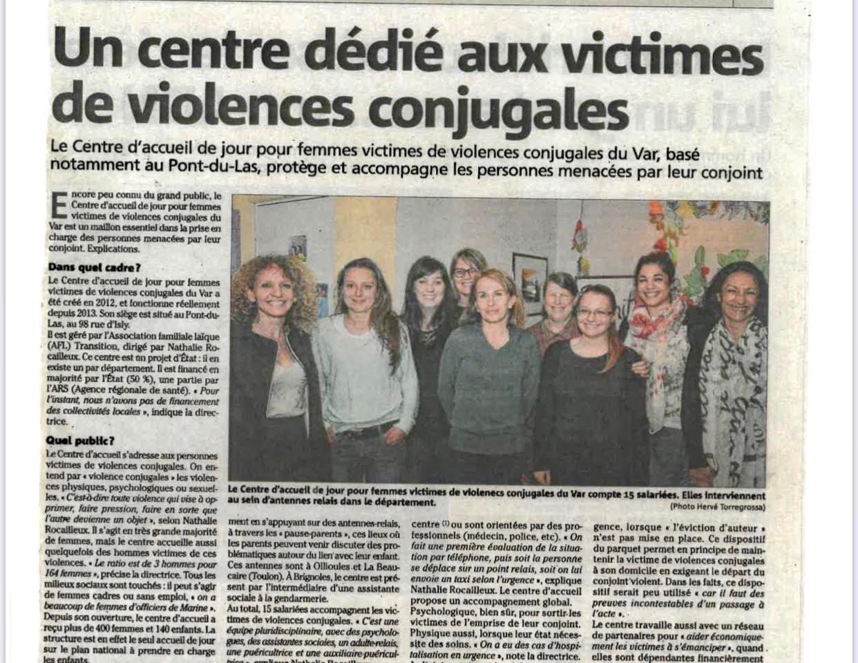 Un centre dédié aux victimes de violences conjugales