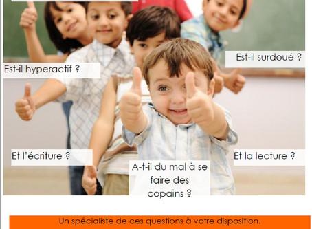 """Conférence : """" le développement de mon enfant de 0 à 6 ans """""""