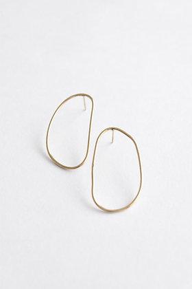 VOLUTE - Boucles d'oreilles - Courbe L