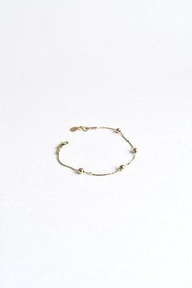 Circus - Bracelet - Quatre perles de métal