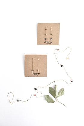 Funambule - Boucles d'oreilles - Une pierre