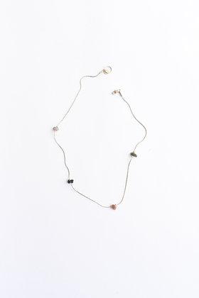 Funambule - Collier - Quatre pierres
