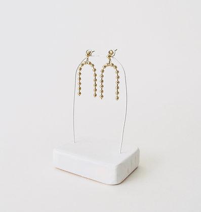 VOLUTE Les Inédits - Boucles d'oreilles - Arc perlé S