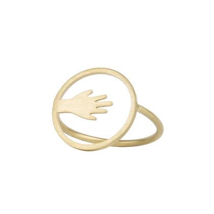 NU - Bague - Étreinte mini main