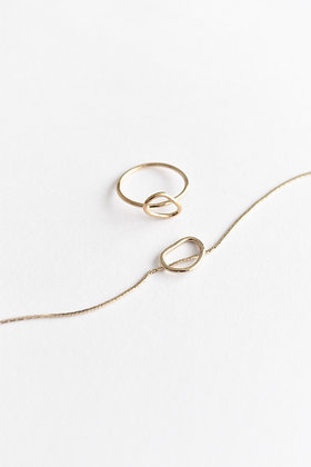 VOLUTE - Bague - Courbe small