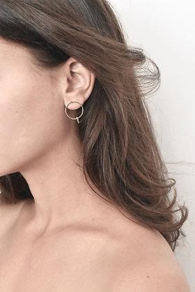 Éclat du jour - Boucles d'oreilles - Éclat simple