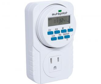 Autopilot 7 Day Grounded Digital Timer