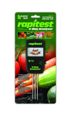 Luster Leaf Rapitest Electronic 4 Way Analyzer