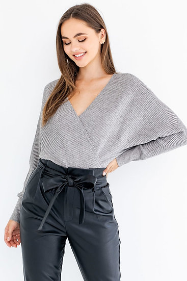 Sultry Sweater Bodysuit