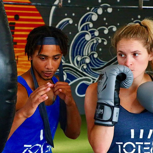 Beginner's Muay Thai for Self Defense