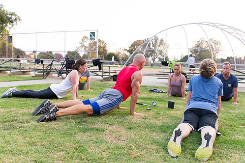 Intermediate / Advanced Boot Camp Class - Track Workout