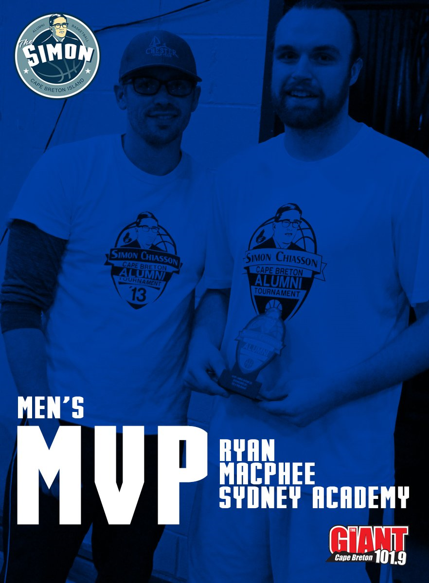 2016 MEN U35 MVP Ryan MacPhee