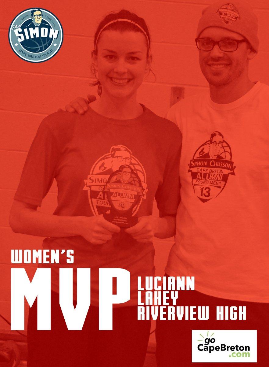 2016 WOMEN MVP Luciann Lahey