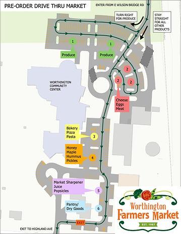 Farmers Market Drive-Thru - Construction