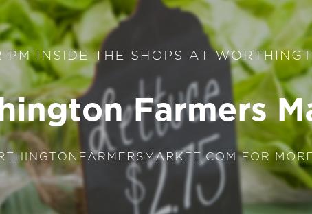 It's the last indoor Worthington Farmers Market of the season - April 27