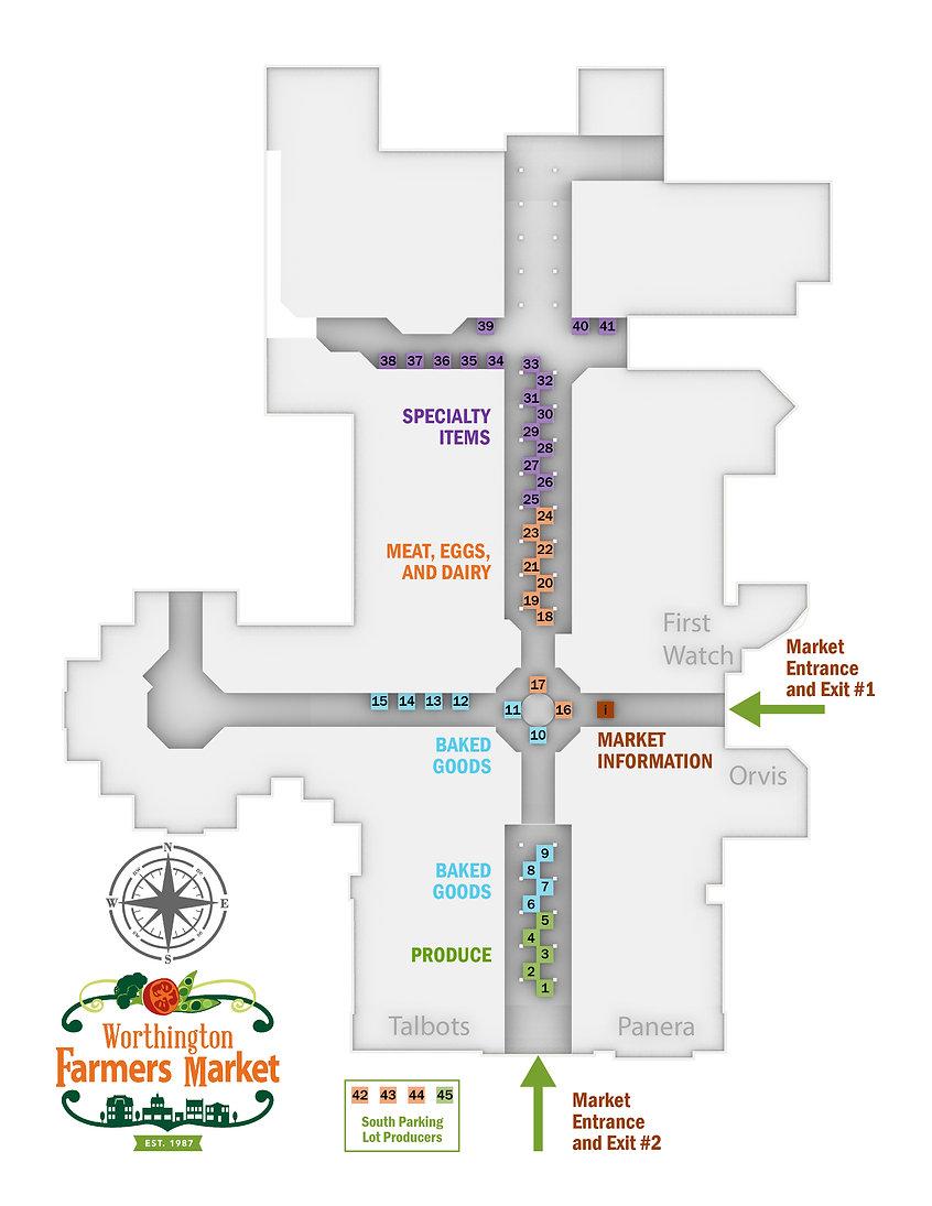 Market Map - Worthington Indoor Farmers