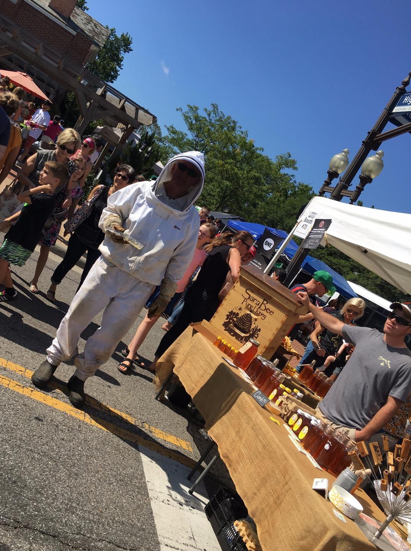 Beekeeper Barry from SaraBee Honey