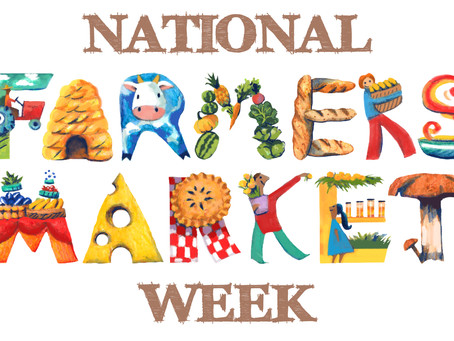 Happy National Farmers Market Week! Celebrate at the Worthington Farmers Market