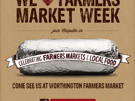 Worthington Farmers Market: August 6th