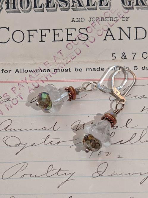 Bell flower earring