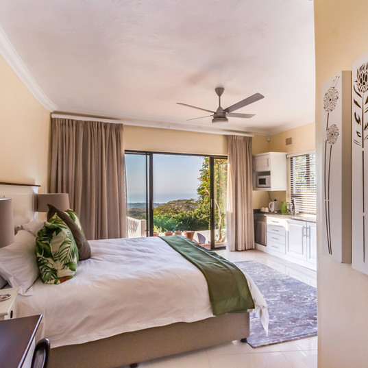 Ruari room overlooking the ocean