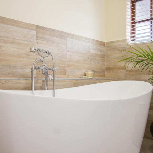 Soak in  the Marion room bath tub