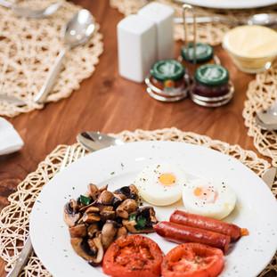 Homemade breakfast