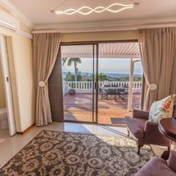 Sam room with stunning sea views