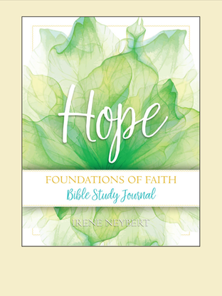 Hope : Foundation of Faith - Bible Study Journal