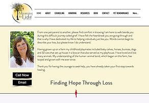 Mourning to Light Pet Loss Website.png