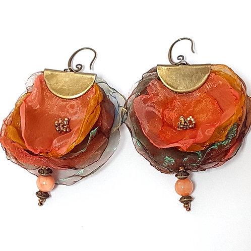 תכשיטים מעוצבים-עגילי אורגנזה-7