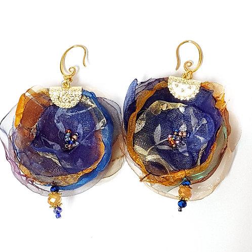 תכשיטים מעוצבים-עגילי אורגנזה-3