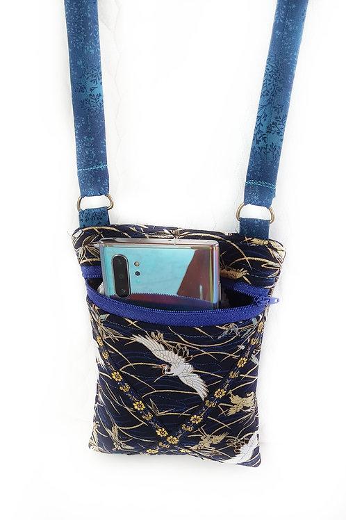 תיק לטלפון נייד סידרה כחולה-4