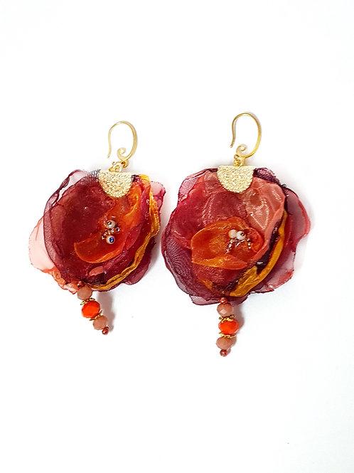 תכשיטים מעוצבים-עגילי אורגנזה-2