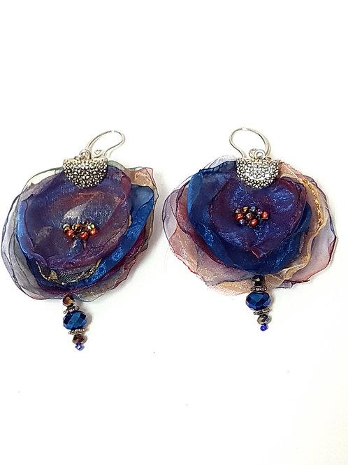 תכשיטים מעוצבים-עגילי אורגנזה-6