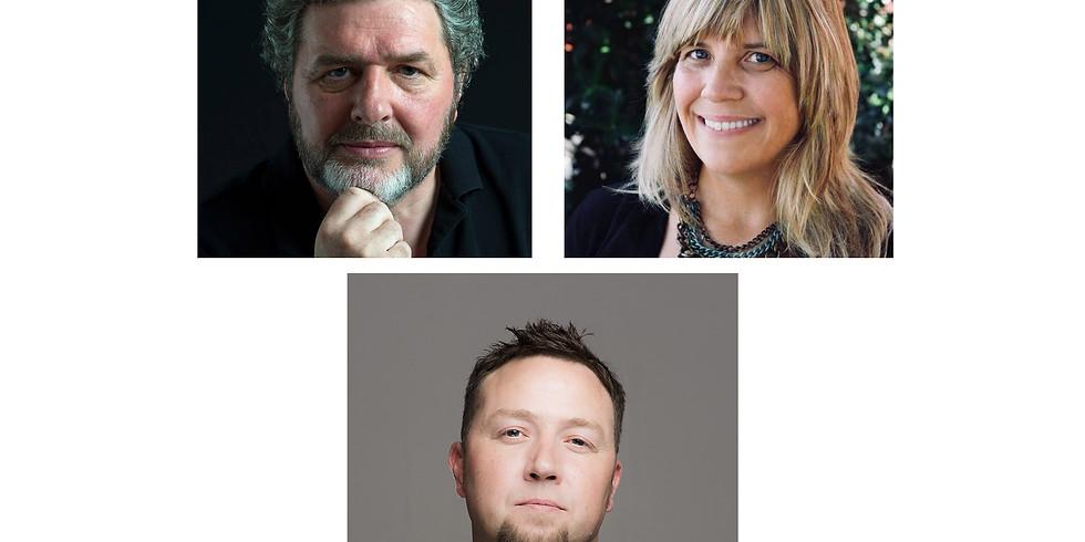 Litchfield Tea & Poetry: Adrian Rice, Molly Rice, Ray McManus
