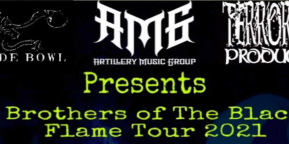 Brothers of The Black Flame Tour featuring Black Tar Superstar/Slow Wake/Horehound