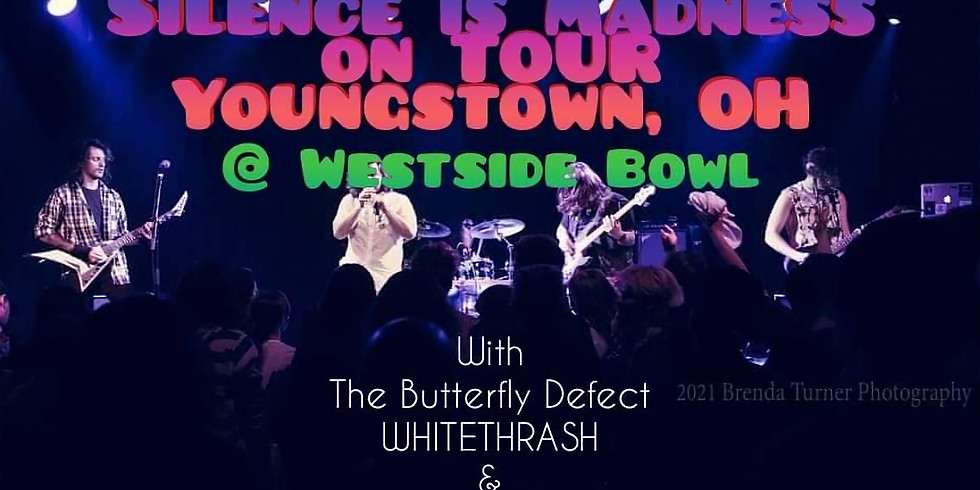 Silence is Madness with friends The Butterfly Defect, WHITETHRASH, and Iron Brigade