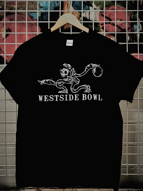 Skeleton Bowler T-Shirt