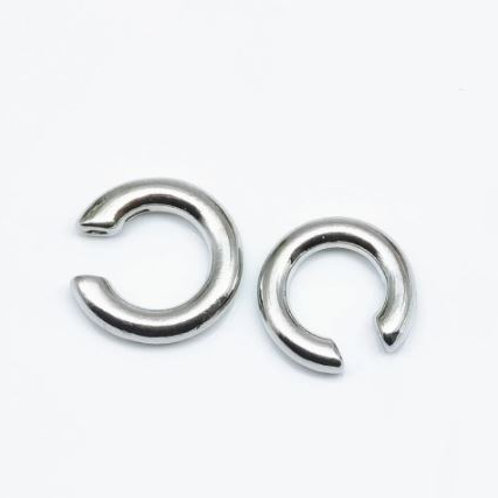 G6-EAR CUFF (ALSO IN GOLD) (SET OF TWO)