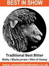 Cotswold Lion - Best in Show (4.2% Best Bitter)