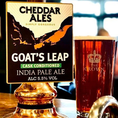 Cheddar - Goat's Leap (5.5% English IPA)