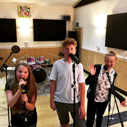 Just had Josh, Izzy and Jasmine rocking out with our Pop Star Experience package here at the studio