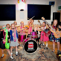 Just finished recording Sophia and the rest of her popstar friends here at Rock Hard Studios! Rockin